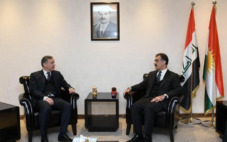 Dizayi ve Karaçay, Erbil-Ankara ilişkilerini görüştü
