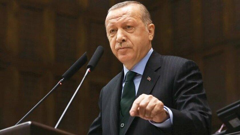 Erdoğan: Yüzyılın anlaşması dedikleri bir işgal projesidir