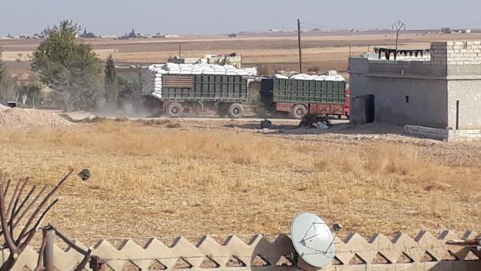 Türkiye Girê Spi'deki 20 bin ton hububatı Urfa'ya taşıyor