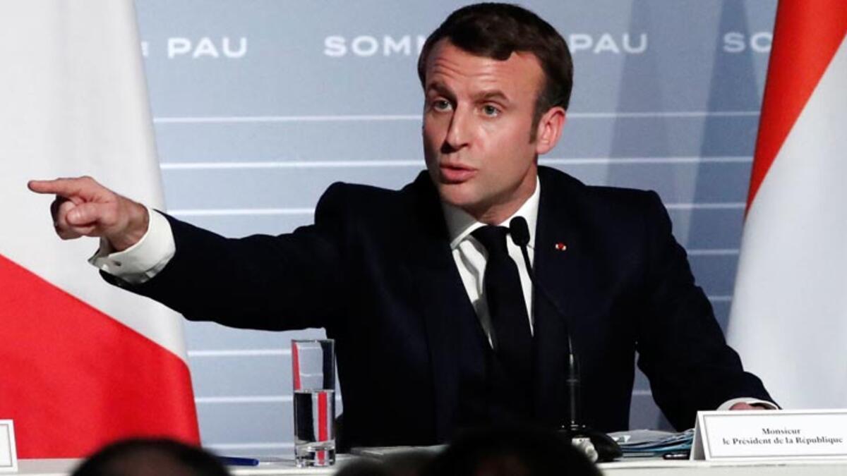 Macron'dan sert çıkış: Gidin diktatörlükte yaşayın