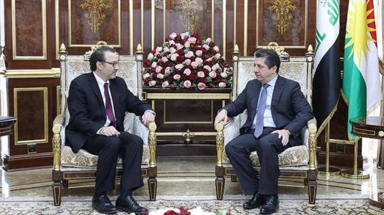 Başbakan Barzani ve ABD'li yekili: 'O konuda' hemfikiriz
