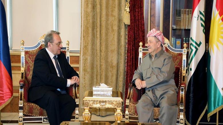 Başkan Barzani, Bogdanov ile Irak ve bölgeyi görüştü
