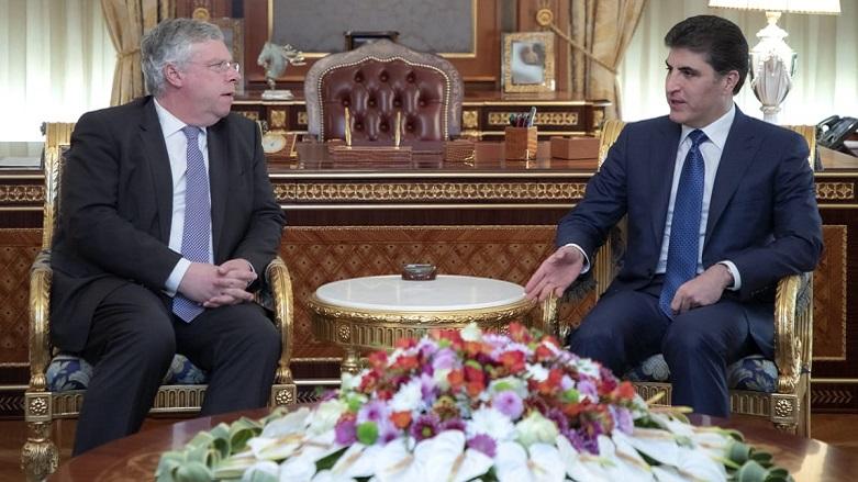 Nerçivan Barzani'den Almanya'nın Peşmerge kararına teşekkür