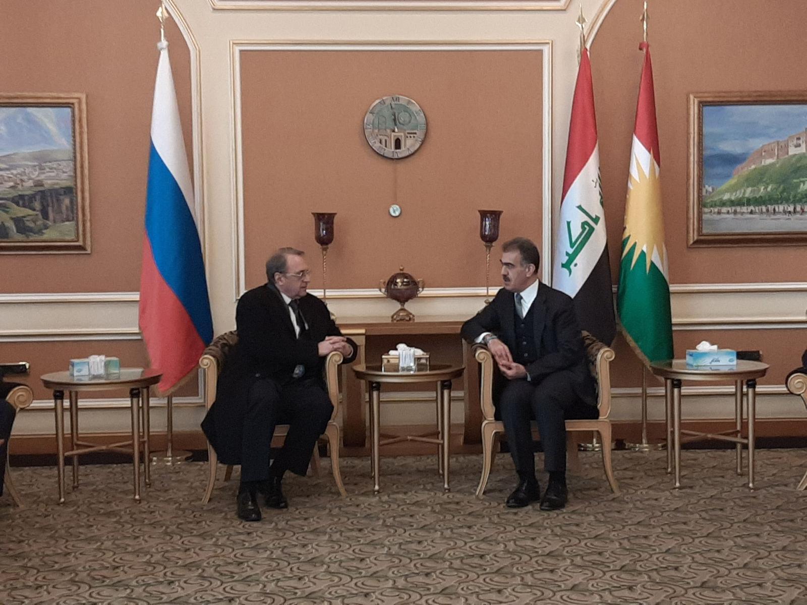 Rusya Dışişleri Bakan Yardımcısı Erbil'de