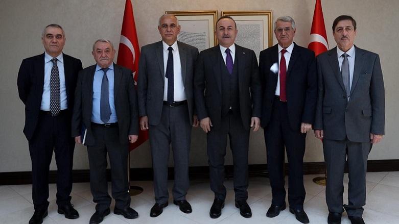 Çavuşoğlu: ENKS'nin Suriye içindeki rolünü destekliyoruz