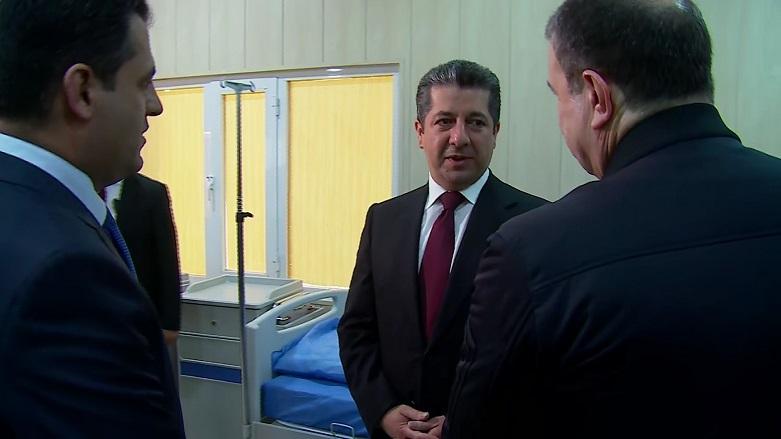 Mesrur Barzani: Tüm kentlerde koronavirüs merkezleri açıldı