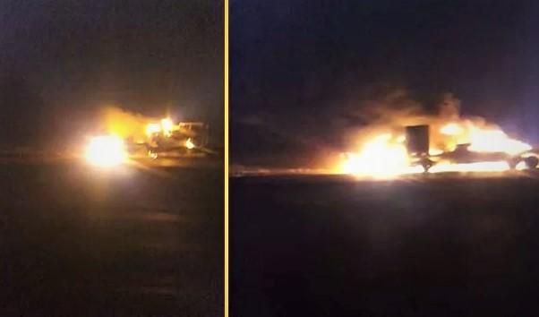 Irak'ta ABD ordusuna ait konvoya silahlı saldırı