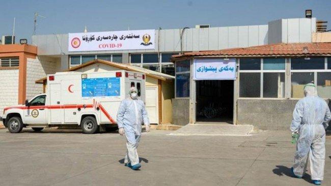 Kürdistan'da vaka sayısı 10 bine yaklaştı: Can kaybı 340