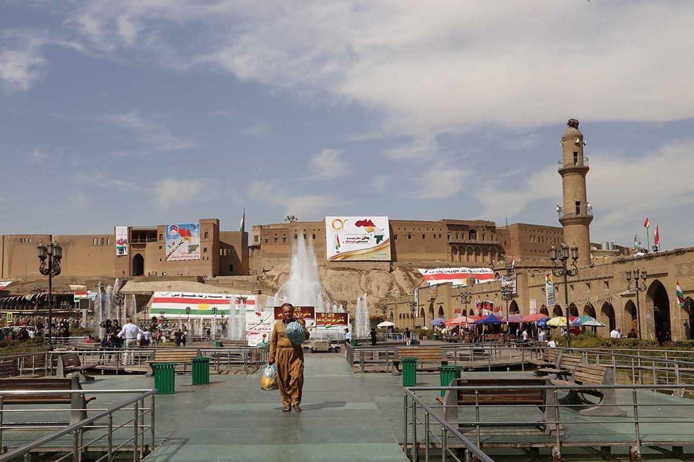 Erbil'de sokağa çıkma yasağı talebi: Ciddi yükseliş var