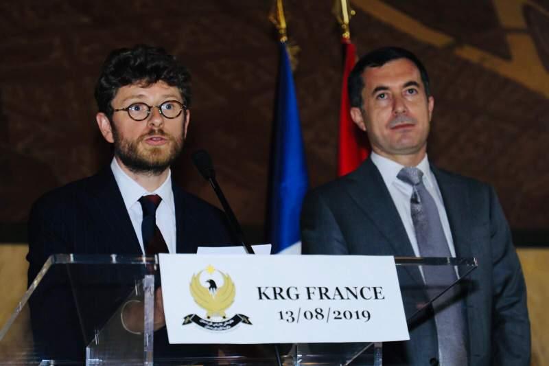 Fransa: Kürdistan Bölgesi her zaman dost olarak kalacak