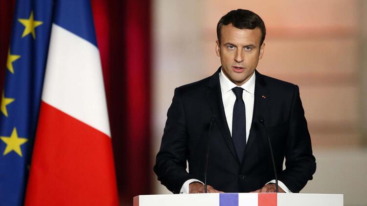 Macron: Bölgenin kaderi Rusya ve Türkiye'ye bırakılamaz
