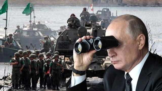Rusya'dan Ermenistan-Azerbaycan çatışma sınırında tatbikat