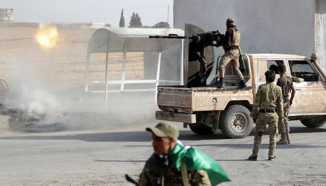 Suriye rejimi ile Türk destekli gruplar arasında çatışma