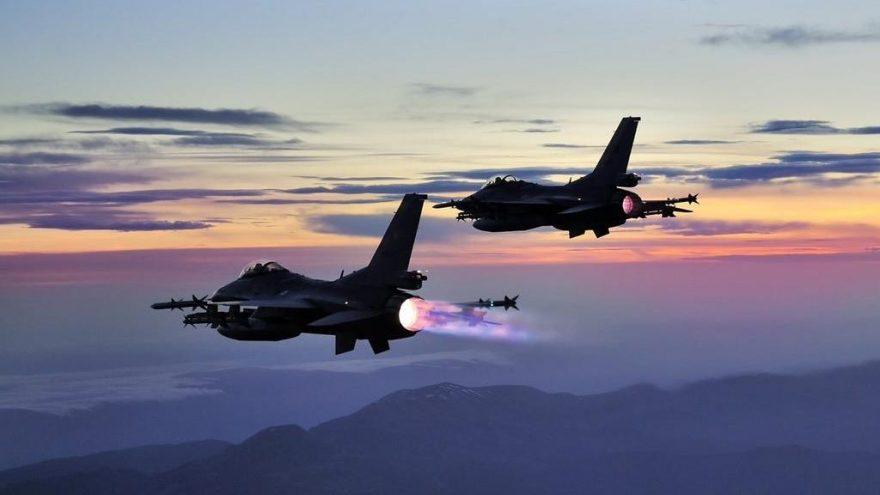 Erbil   Türk uçakları, Helgurd Dağı'nı bombaladı