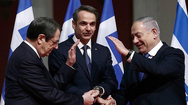 İsrail'den Doğu Akdeniz'de Yunanistan'a destek