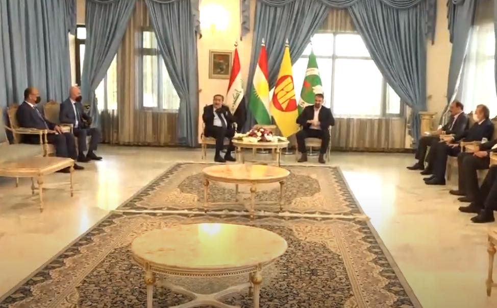 KDP ve KYB'den hükümet ve parlamentoya destek