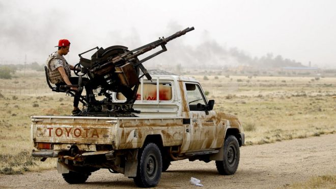 ABD'den Libya açıklaması: Ateşkes için temas sürecek