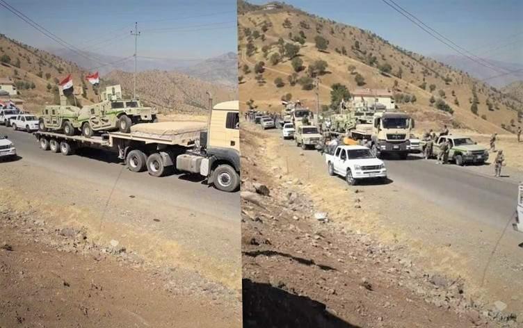 Irak, Kürdistan Bölgesi'ne askeri sevkiyat düzenledi