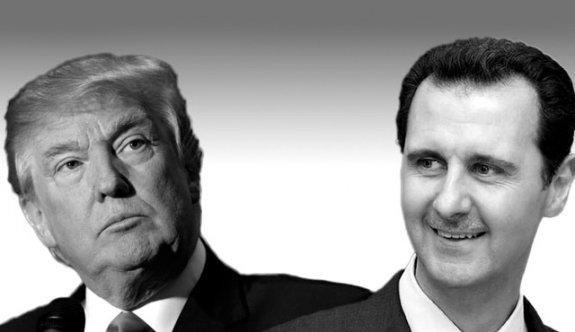 'Trump, Esad'a mektup yazıp, yardım istedi'