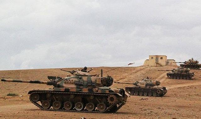TSK, Suriye'de yeni bir askeri karakol inşa ediyor
