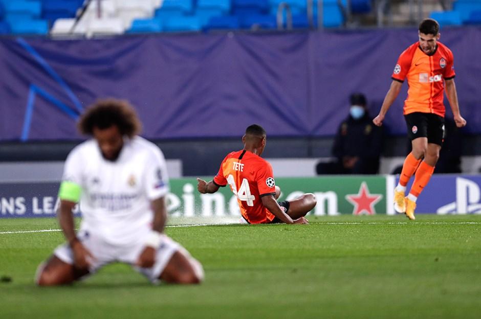 Shakhtar Donetsk, 10 eksik oyuncuyla Real Madrid'i yendi