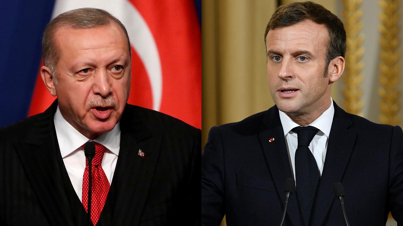 Fransa'dan Erdoğan'ın Macron açıklamasına yanıt