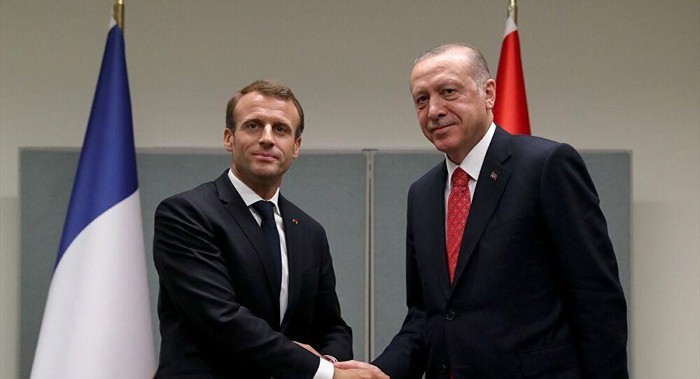 Erdoğan ve Macron, Doğu Akdeniz'i görüştü