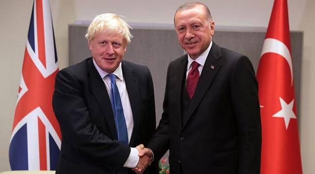 Erdoğan ve Johnson, Doğu Akdeniz ve Karabağ'ı görüştü