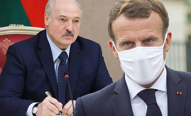 Lukaşenko'dan Macron'a: Olgunlaşmamış politikacı