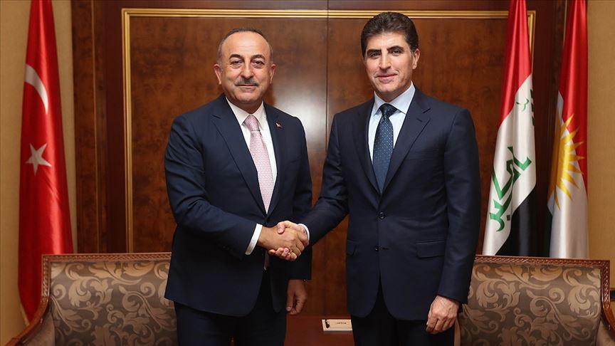 Türkiye'den Neçirvan Barzani'ye teşekkür
