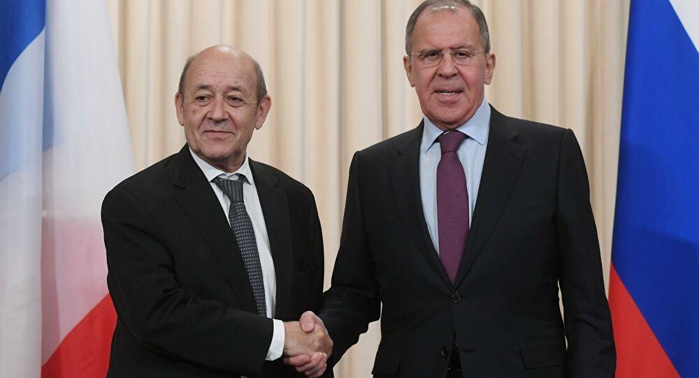Le Drian ve Lavrov'dan Karabağ görüşmesi: Durum ciddi!