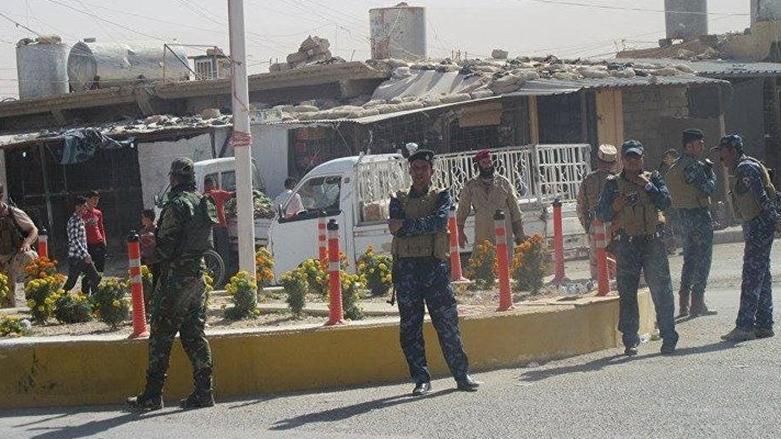 Şengal'de Haşdi Şabi ve PKK bayrakları indirildi