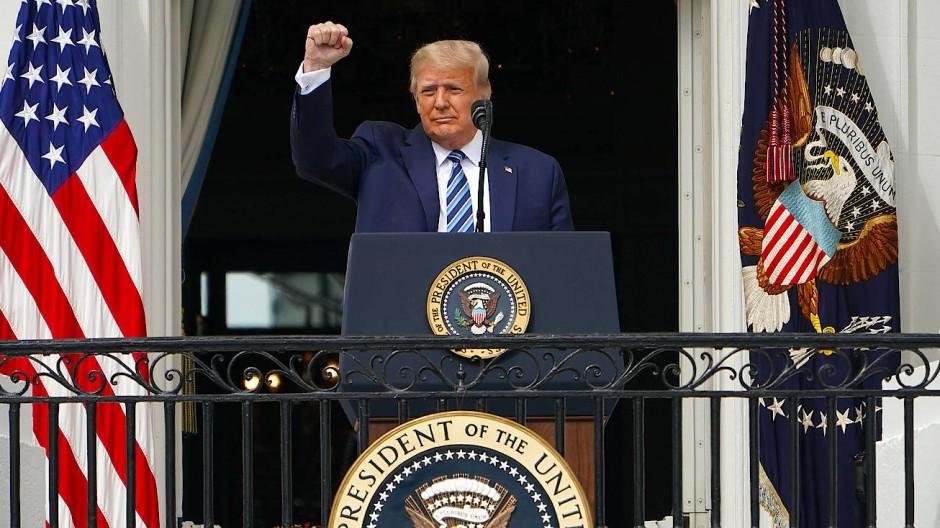 Trump'tan Biden'a, Beyaz Saray'a girme şartı!