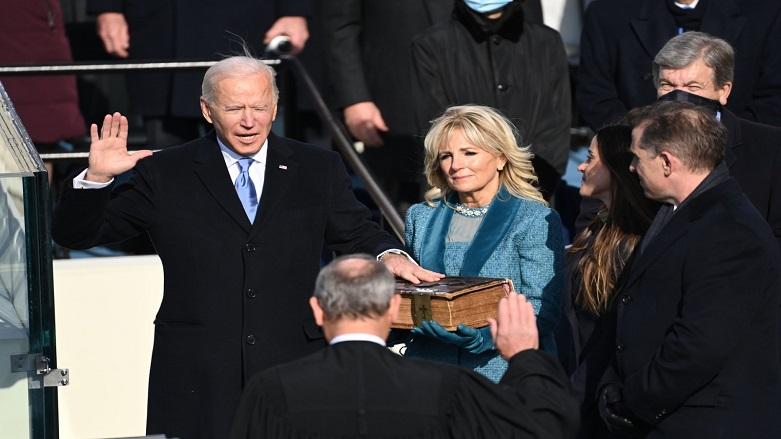 Biden ABD'nin 46'ncı başkanı oldu