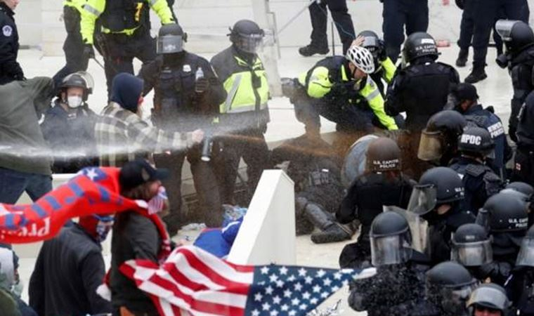 ABD'den Biden protestoları: Demokrat ofislerine saldırı