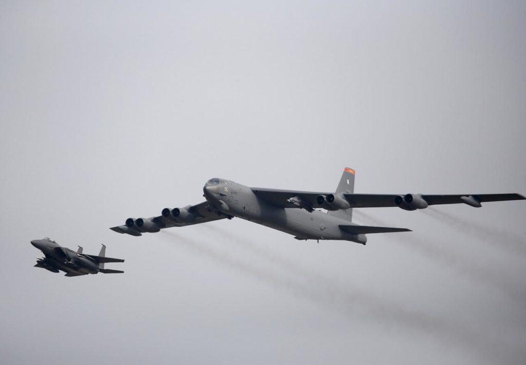ABD nükleer uçakları ikinci kez Orta Doğu'da uçuruldu
