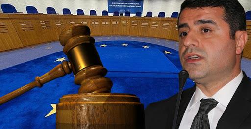 AİHM'den Demirtaş kararı: Derhal tahliye edilmeli