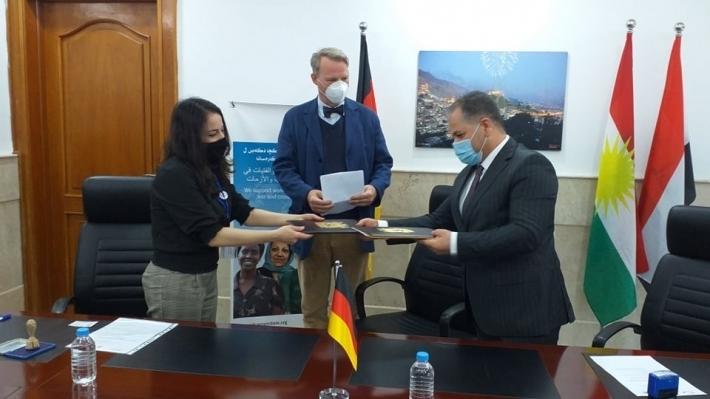 Kürdistan | Almanya'dan Duhok sağlık yardımı!