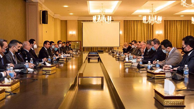 Erbil-Bağdat heyetleri görüştü: Mali haklar talep edilecek