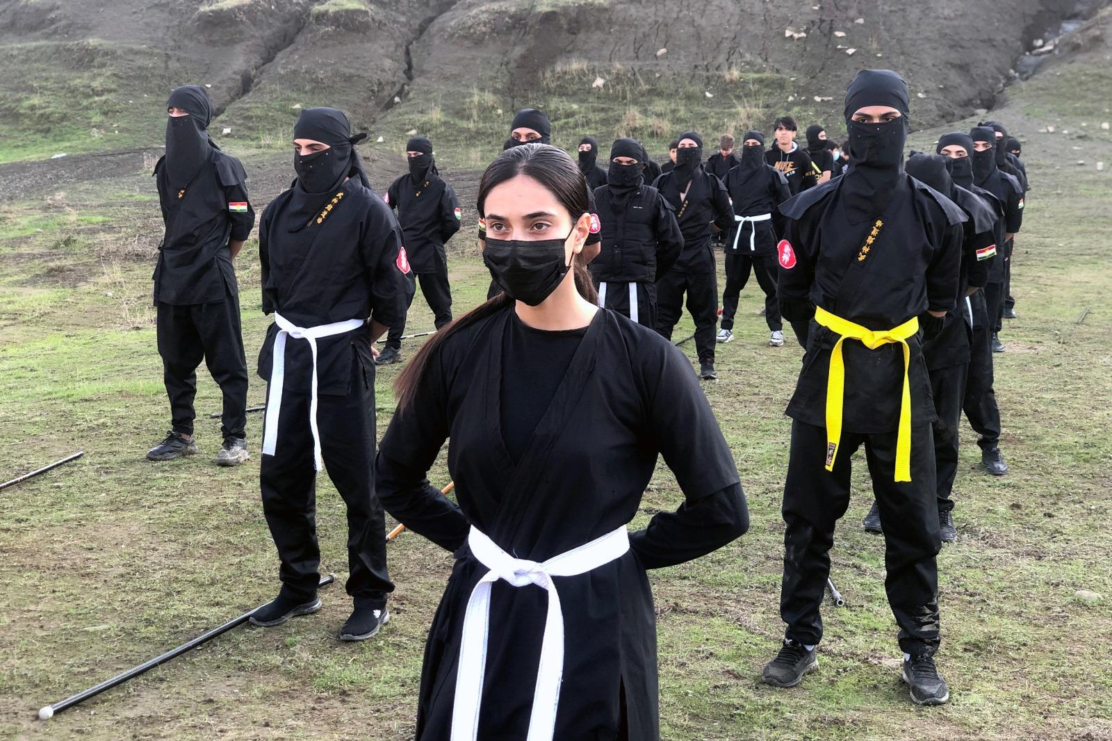 Erbil   Kürt Ninjaları, dünyada tanınmak istiyor