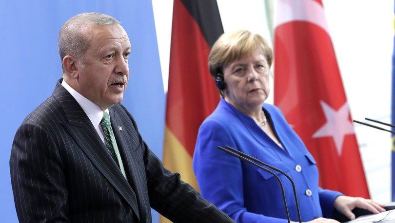 Erdoğan ve Merkel, AB Zirvesi ile Doğu Akdeniz'i görüştü