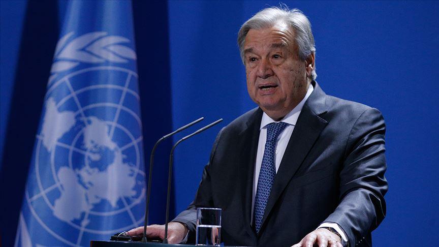 Guterres: Hiç tereddütsüz yaptıracağım!