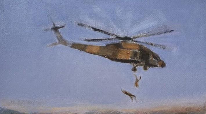 Af Örgütü'nden helikopterden atılan Kürtlerle ilgili mektup