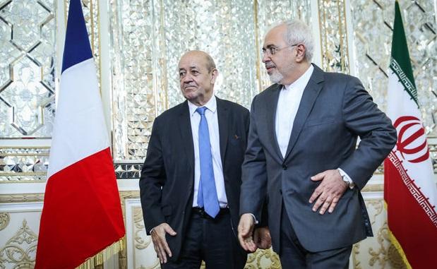 İran'dan Fransa'da 'Nükleer silah' tepkisi!