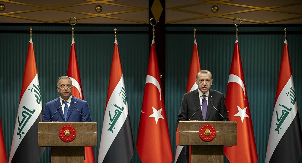 Erdoğan, Kazımi ile ortak açıklama yaptı