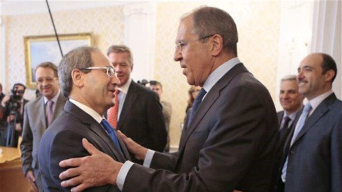 Lavrov, mevkidaşı Mikdad ile Suriye ekonomisini görüştü