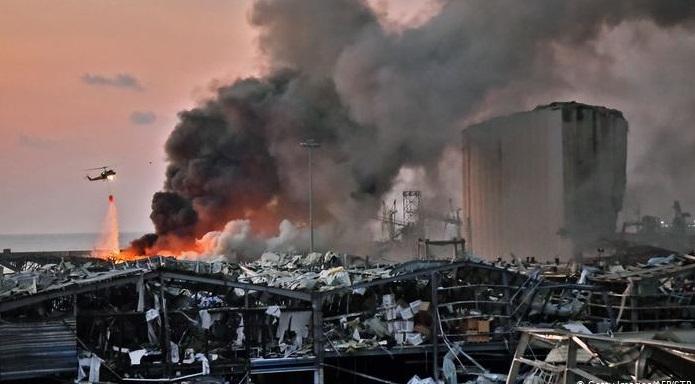 Suriye rejiminin adı Beyrut patlama olayına karıştı