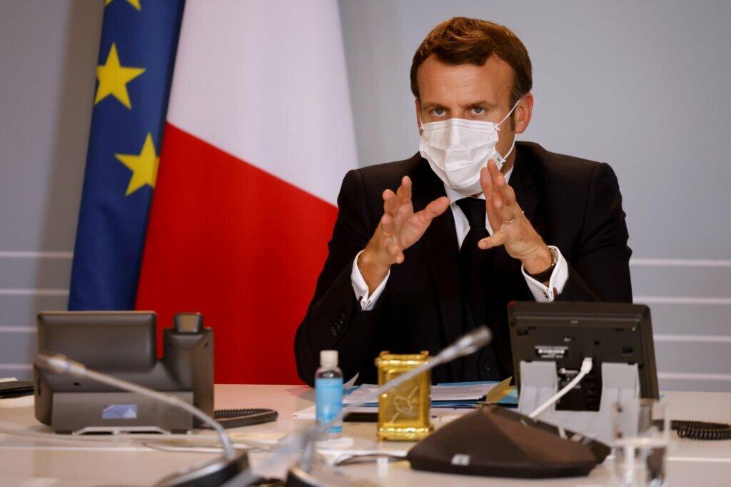 Macron, Kovid-19'a yakalandı: Testi pozitif...