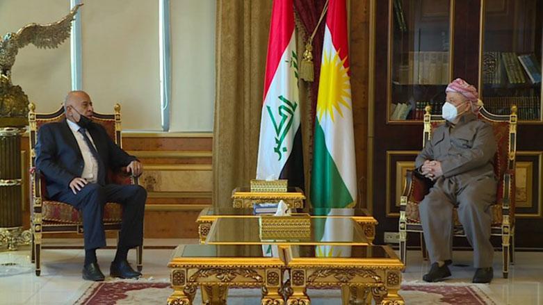 Başkan Barzani, Fetih Hareketi Temsilcisini kabul etti