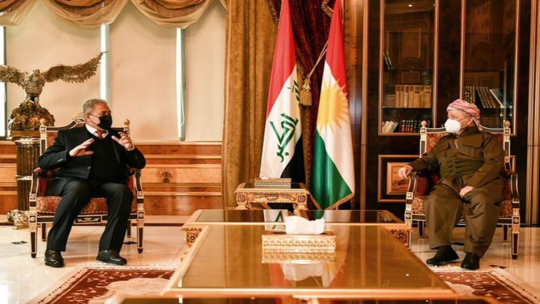 Başkan Barzani, Irak istihbaratı terör ve Şengal'i görüştü